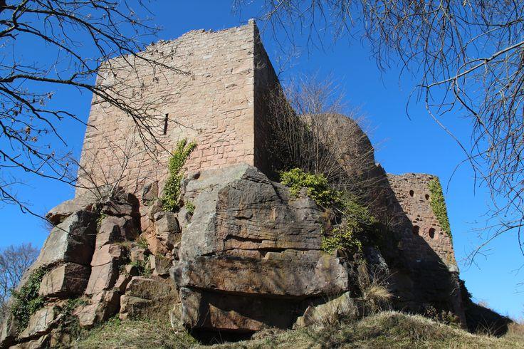 Château du Frankenbourg. (La Vancelle)