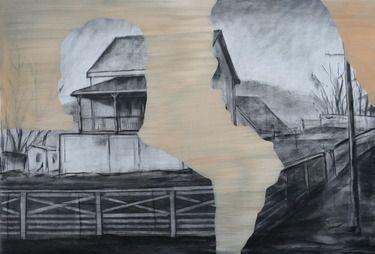 "Saatchi Online Artist Tom Keevill; Painting, ""Farmhouse"" #art"