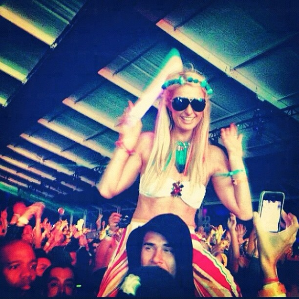 <3 Dancing at Coachella with DJ Afrojack! <3