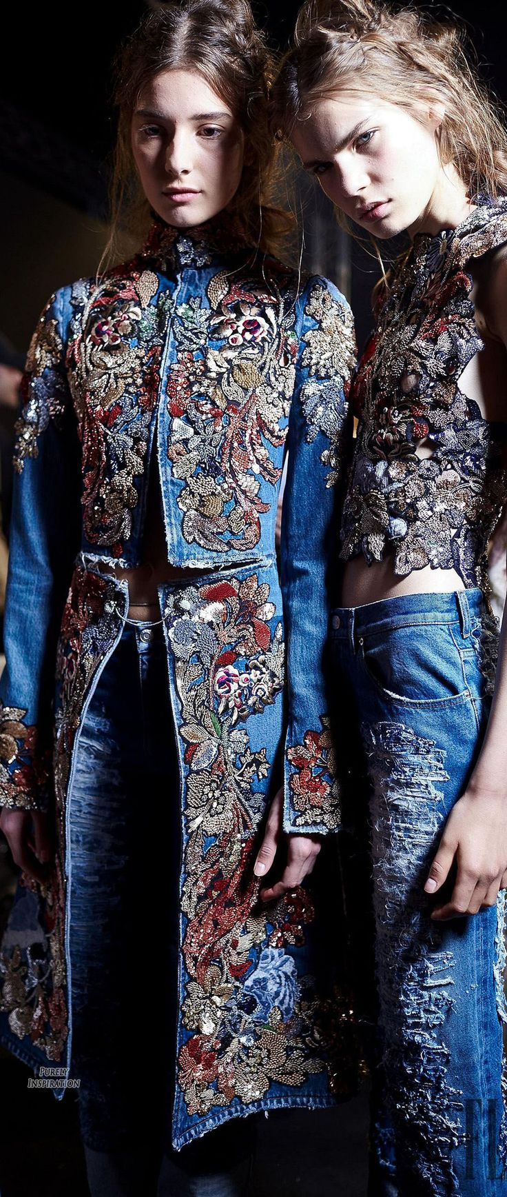 Alexander McQueen SS2016 Women's Fashion RTW (runway details)| Purely Inspiration
