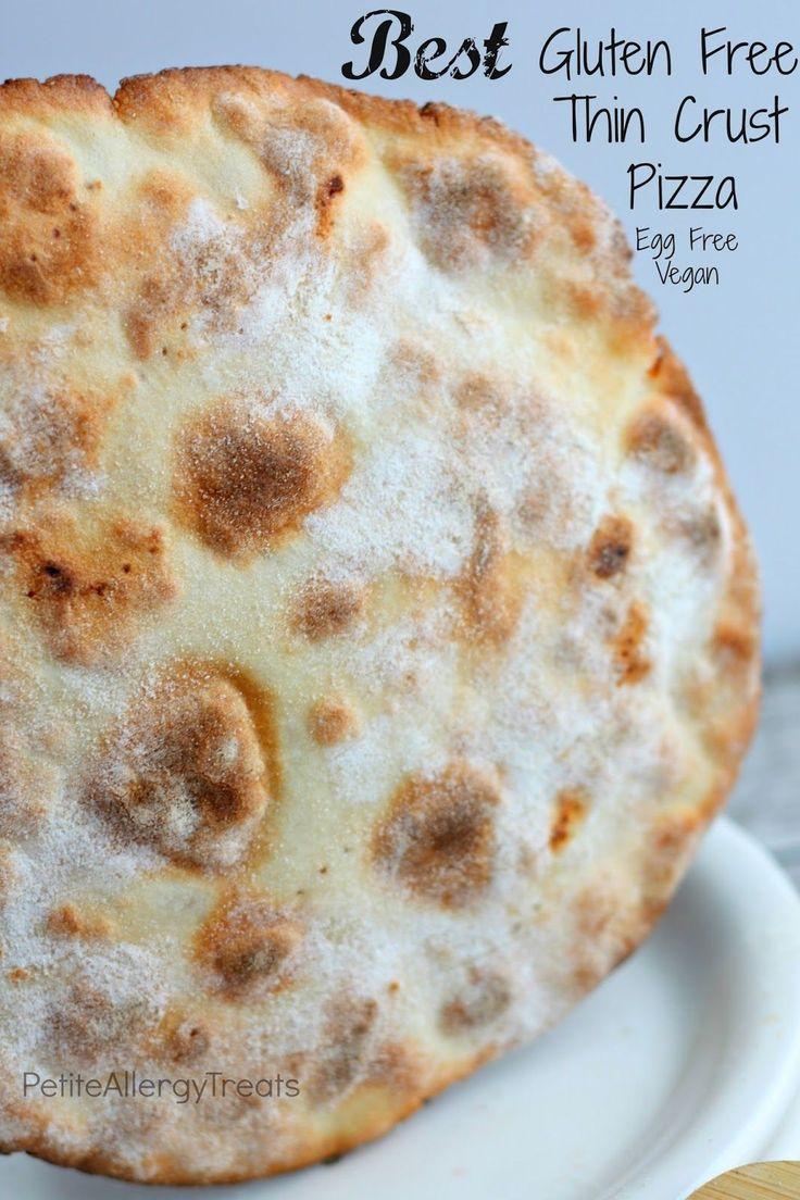 Best Gluten Free Thin Crust BBQ Chicken Pizza- Thinnest Crispiest GF crust EVER!  Baking Steel Review & Giveaway