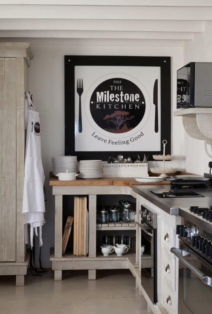the milestone kitchen a working restaurant kitchen