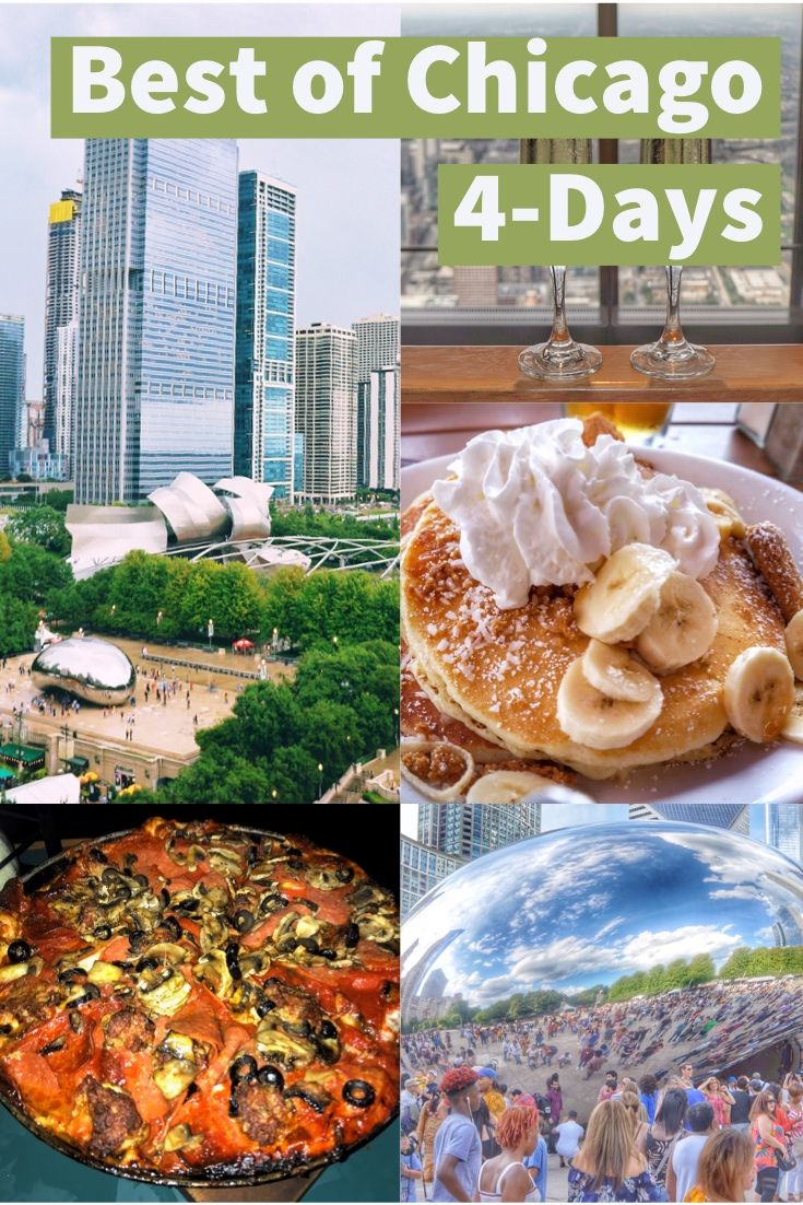 4 Days In Chicago Travel Itinerary And Guide Including The Best Things To Do See And Restaurants And Bars Chicago Chicago Travel Chicago Best River Cruises