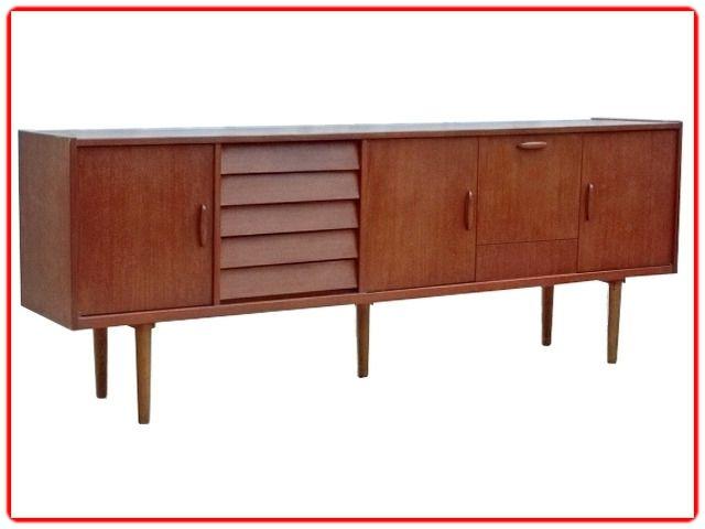 Enfilade Design Scandinave Teck Vintage 1960 Vie Anterieure 79 Meubles Vintage Et Scandinaves Meuble Vintage Mobilier De Salon Meuble Rangement