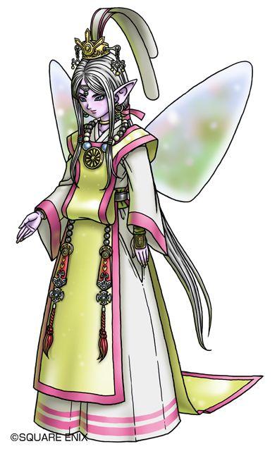 巫女ヒメア。ドラクエ10のキャラクターまとめ