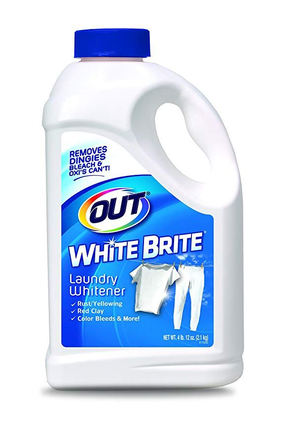 Out White Brite Laundry Whitener 4 Lb 12 Oz Bottle Cleaning Hacks Cleaning Laundry Stain Remover