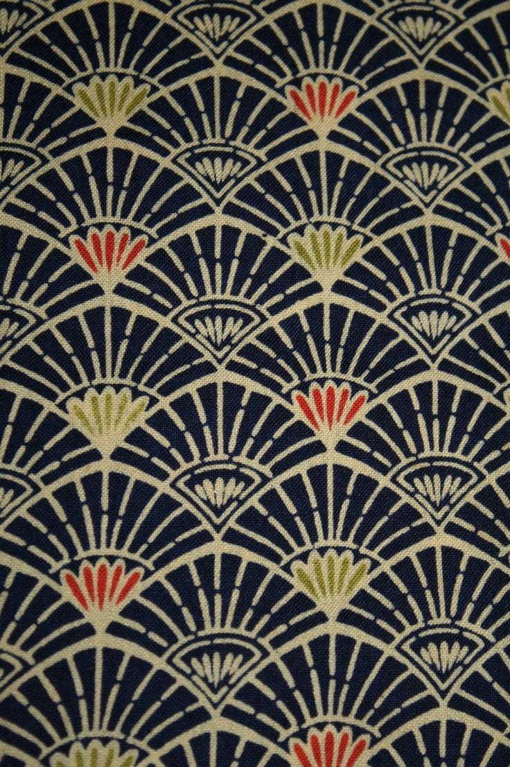 Vintage wool kimono fabric