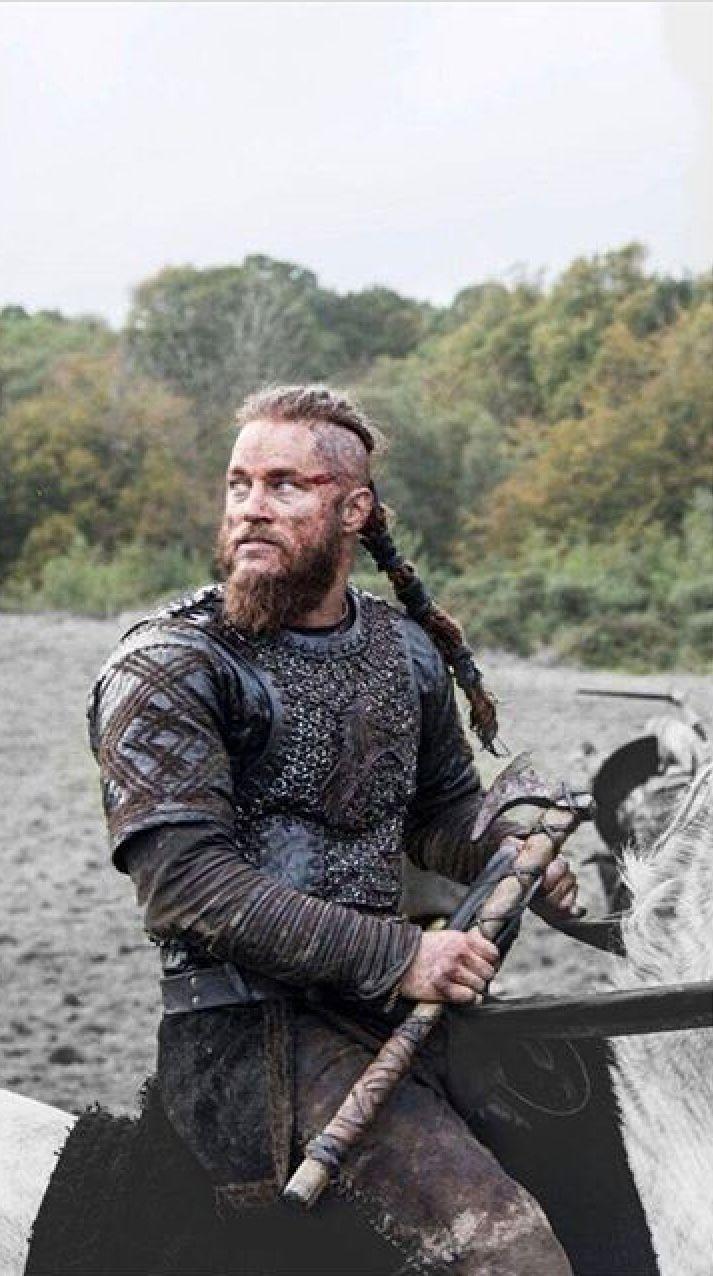 Ragnar❣ vikings vichinghi guerrieri og cartoni animati