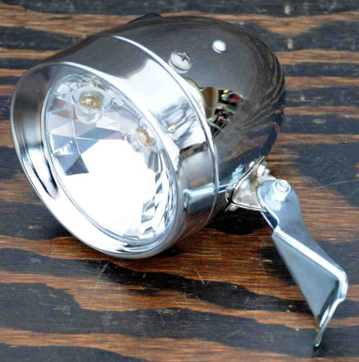 Vintage Bike Headlight