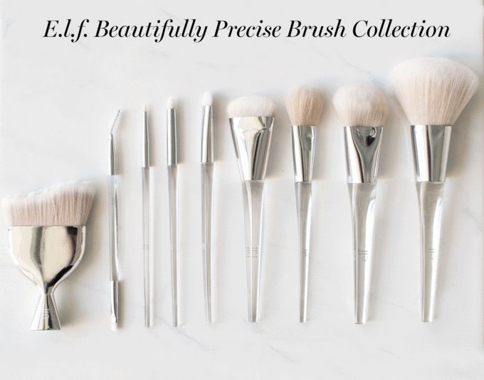 These gorgeous ELF brushes!