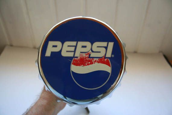 Bartop bottle opener with Pepsi Cola logo. by DecadesOfFunkiness