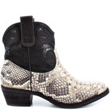 If you know my dad- his signature shoe is a pair of black and white snakeskin cowboy boots.  When he wears them, you know where the party is.  These are a mini version of his, must have <3    Sam Edelman Stevie - Roccia - Black