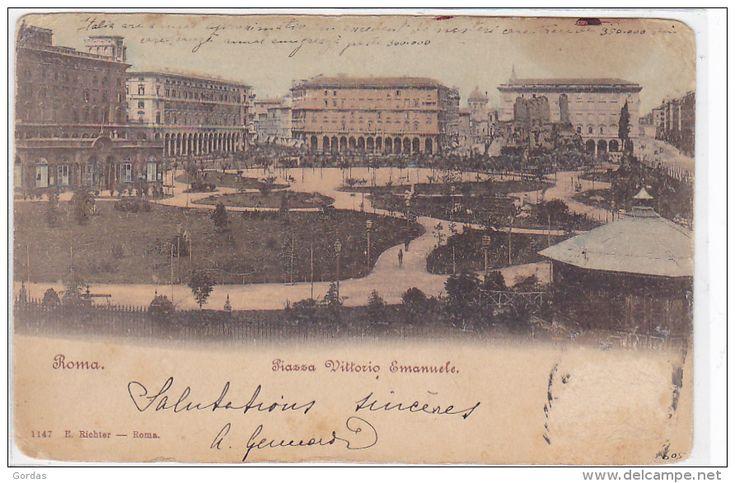 Piazza Vittorio 1908