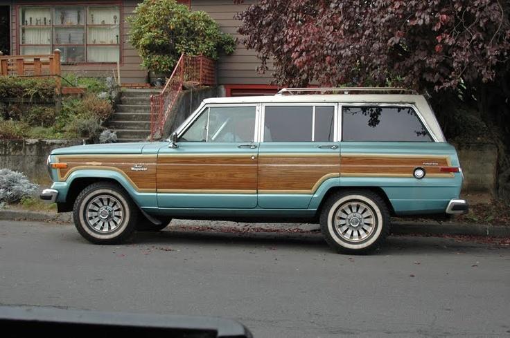 1986 Jeep Grand Wagoneer....sigh