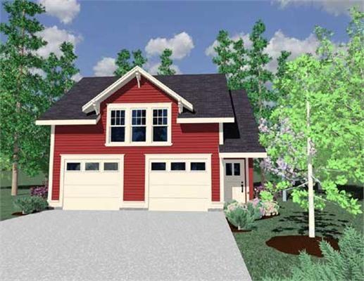 Garage Plans   Home Design M 675