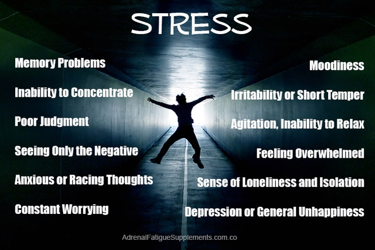 Stress can really hit us, not only emotionally, but our ability to think as well.