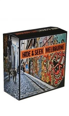 This boxed set is an ideal gift for anyone interested in discovering the city's best hidden places. The box is a work of art in itself, featuring images of Melbourne's iconic laneway graffiti art, and contains all four of the latest Hide & Seek Melbourne books on shopping, eating, bars and clubs, and quirky activities.