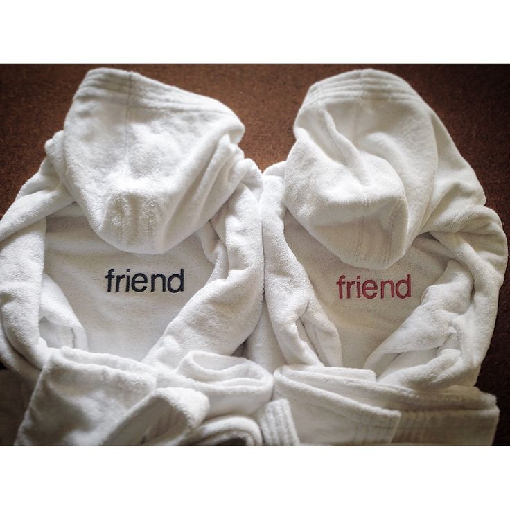 MarinaC - Having a sleepover this weekend? These bathrobes for your guests are fun! #marinacmilano #friends