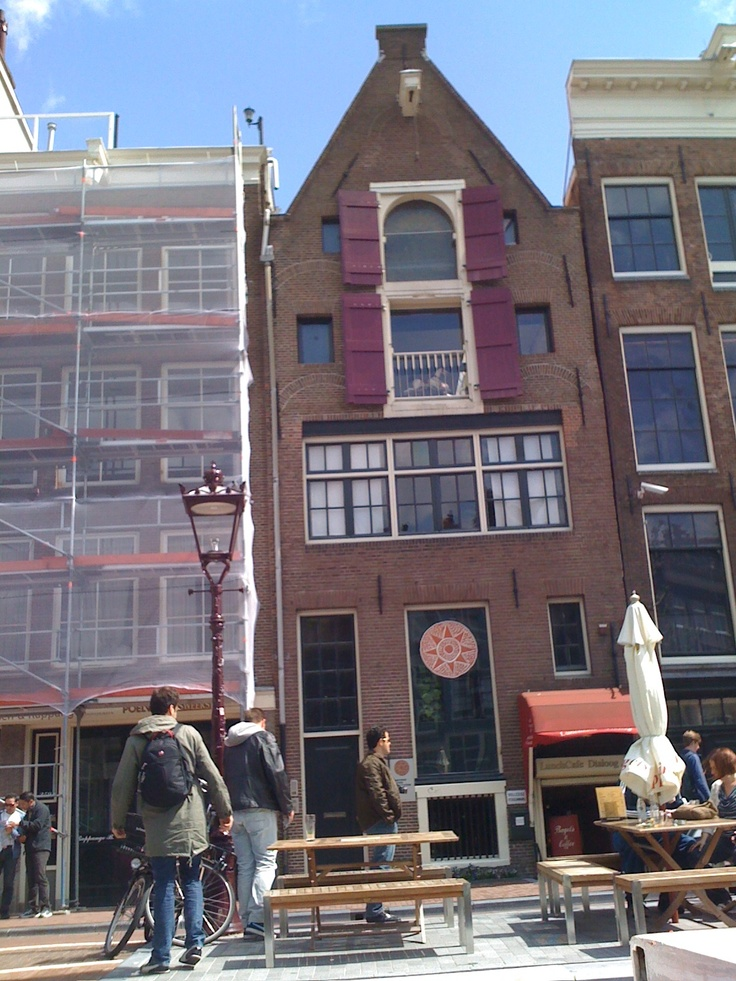 Anne Franks house in Amsterdam. So moving. By the time I ...