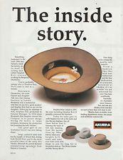 Vintage 1992 AKUBRA HAT Advertisement AUSTRALIAN HAT