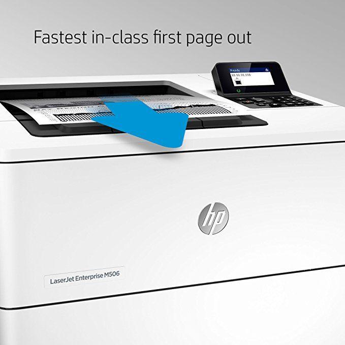 Hp Laserjet Enterprise M506dn Laser Printer With Built In Ethernet Duplex Printing F2a69a Affiliate Laser Printer Enterprise Printer