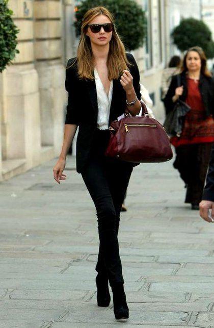 Το blazer σε 8 σύνολα που θα λατρέψετε #Street_Style | μοδα , street style | ELLE
