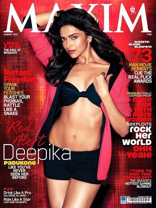 Deepika Padukone, Maxim Magazine [India] (August 2011)