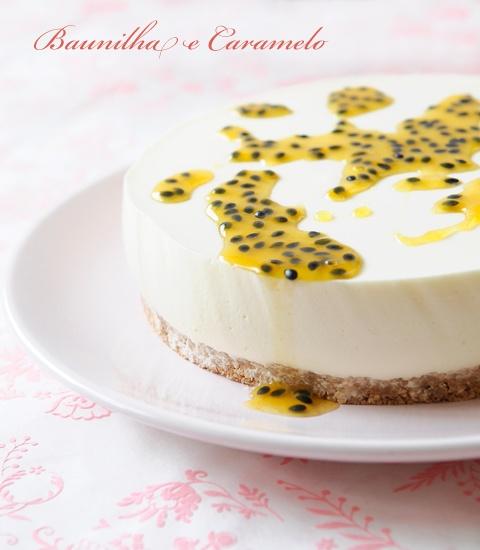 Passion Fruit Cheesecake Tart Recipe — Dishmaps