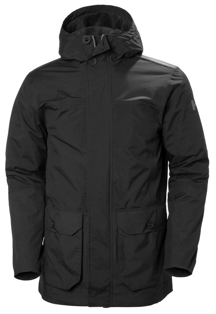 Helly Hansen Mens Killarney Parka Sport Leisure Wear Black