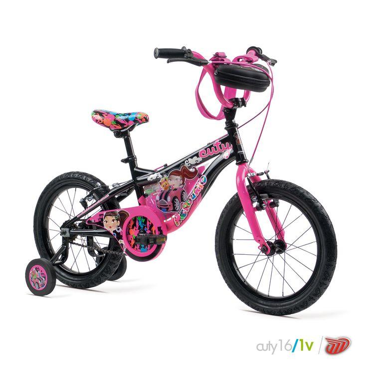 Bicicletas Mercurio Modelo Cuty16 Bicicleta para niñas MTB/Recreación #bikes #bicicletas #bicicletasmercurio https://www.facebook.com/BicicletasMercurio