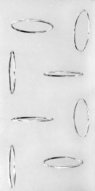 Cerchi virtuali, 1967, by Getulio Alviani