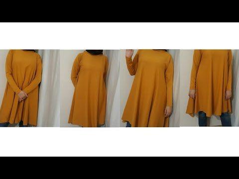 f8617cee7b8e5 Bayram İçin Kolay Tunik Dikimi #yenibaşlayanlariçin || DIY Easy Top, Tunic  For Eid