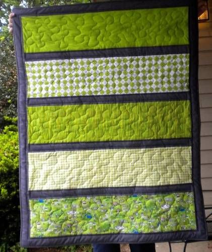 Kind of a cute and easy quilt pattern