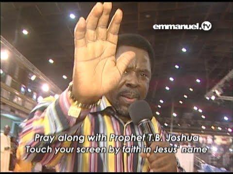 BE RESTORED! - Pray Along with T.B. Joshua