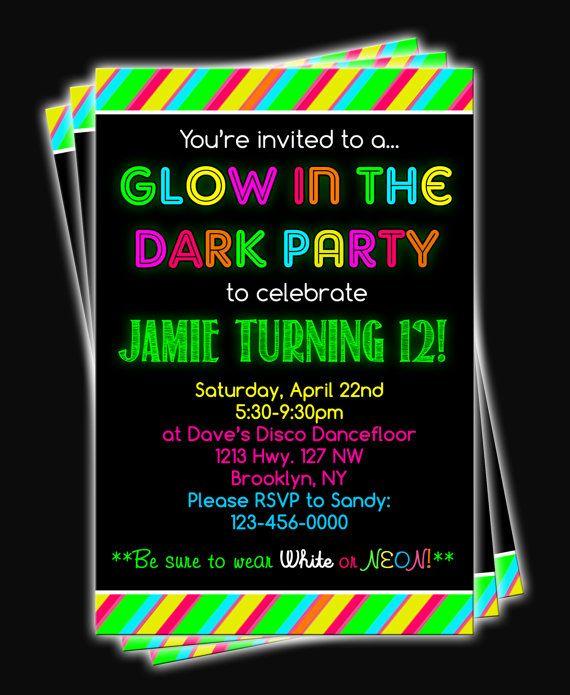 Disco Party Invites as luxury invitation example