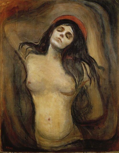 Edvard Munch | Madonna (1894-1895) | Artsy