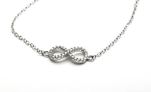 Dainty Infinity Bracelet from the Dainties Collection  http://www.sterns.co.za