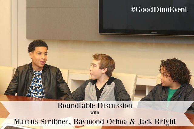 THE GOOD DINOSAUR ~ A Roundtable Discussion with Jack Bright, Raymond Ochoa & Marcus Scribner #ad #GoodDinoEvent - Pink Ninja Blogger