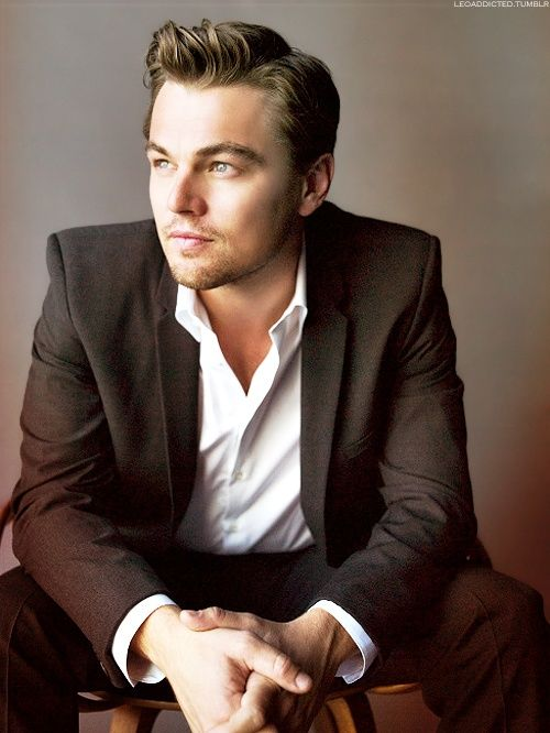 Leonardo Dicaprio <3 - Click image to find more celebrities Pinterest pins