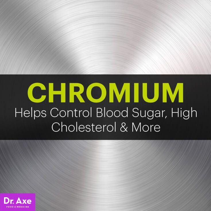 What Is Chromium? Chromium Controls Blood Sugar