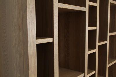 Bespoke oak bookcases - designermade Norway,  Christopher Thomas