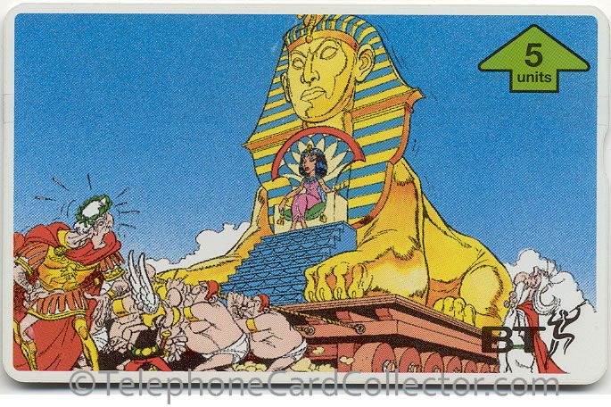 BTG551 - BT Phonecard - Asterix (2) - Cleopatra, Beauty of the Nile
