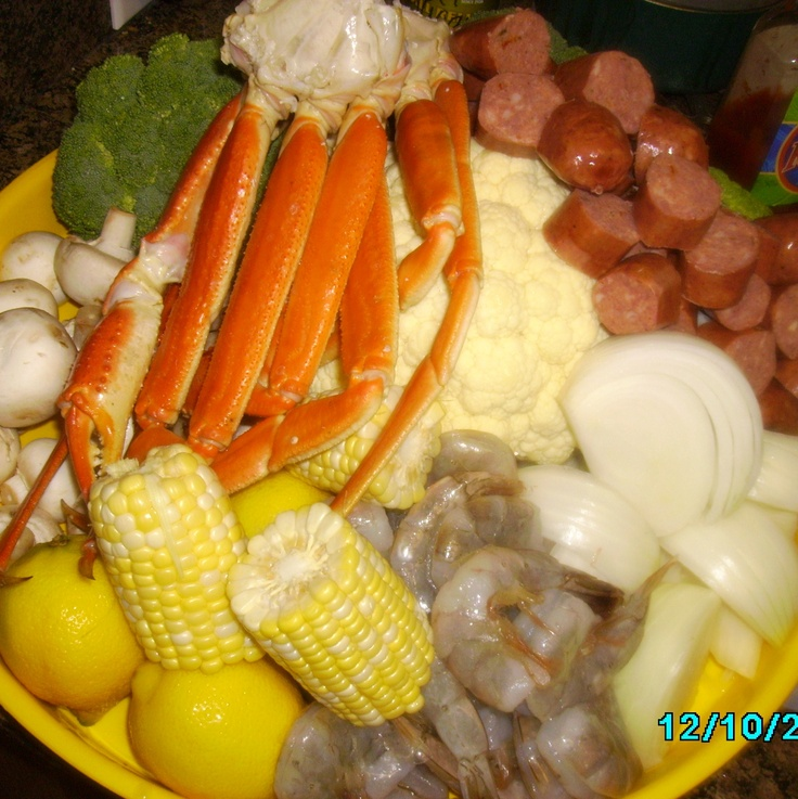 healthy seafood combination to bake, boil grill or steam!!!