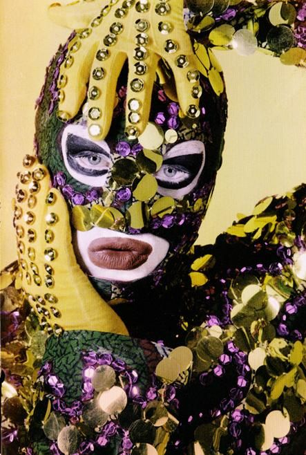 Leigh Bowery, photographed by Werner Pawlok, 1988