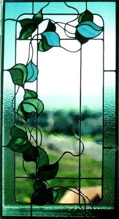 pretty stained glass design