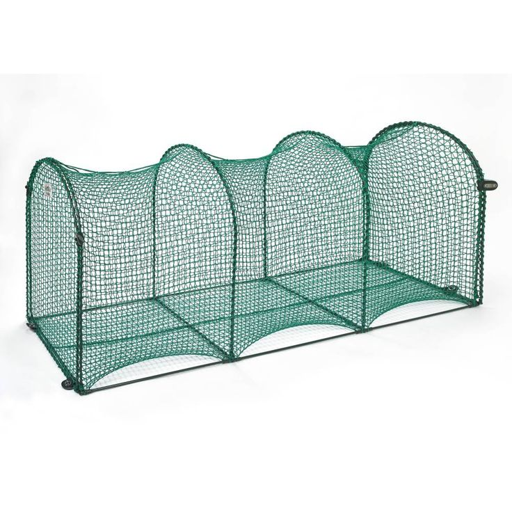 """Kittywalk Deck and Patio Outdoor Cat Enclosure Green 72"""" x 18"""" x 24"""""""