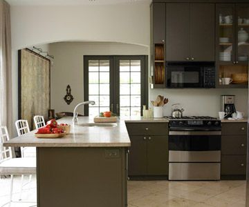 Best Painting Laminate Cabinets Q A Gray Cabinets Cabinets 400 x 300