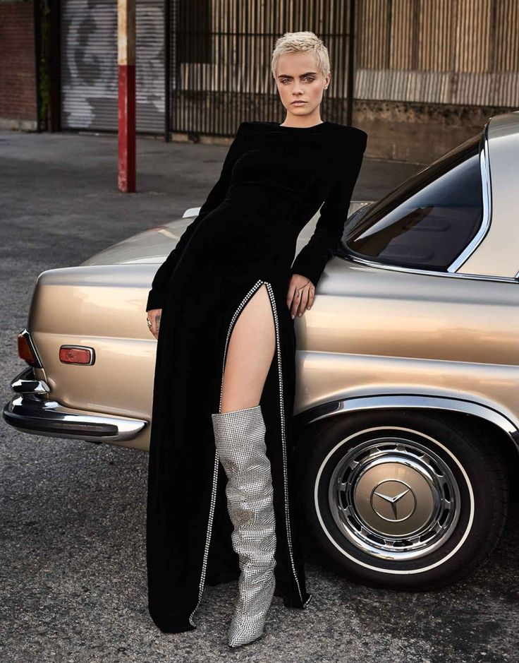 The Edit September 2017 Cara Delevingneby Alexandra Nataf - Fashion Editorials