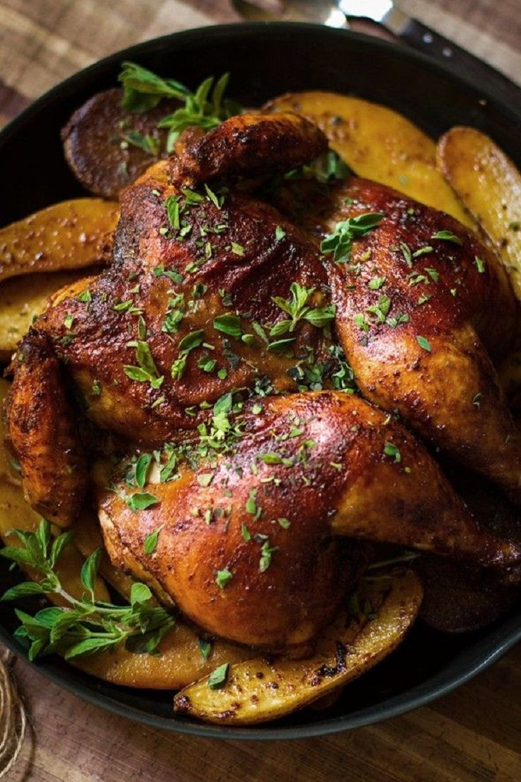 Smoked Paprika and Oregano Roast Chicken. Shop online for free range chicken at Farmer's Choice.