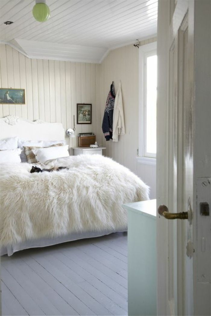 25 best ideas about chambre a coucher blanche on - Top chambre a coucher ...